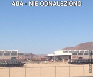 404 - nie odnaleziono