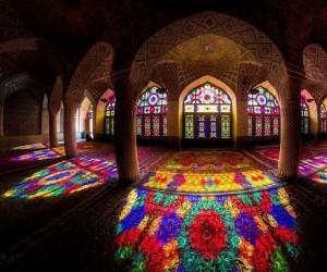 Piękny meczet w Iranie