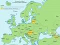 Słowo Polska w różnych językach Europy
