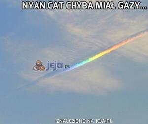 Nyan Cat chyba miał gazy...