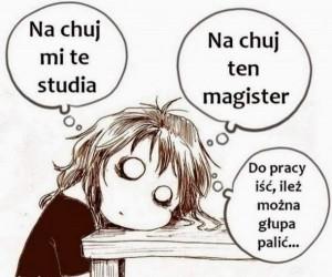 I po co te studia?