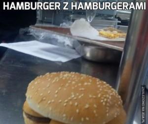 Hamburger z hamburgerami