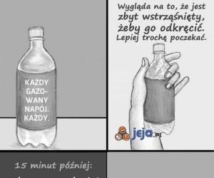 Typowy napój gazowany