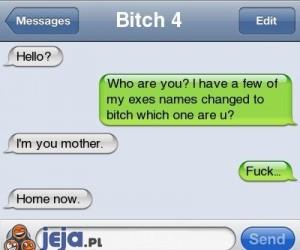 SMS od byłej