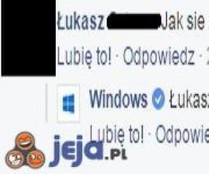 Trollujący Windows