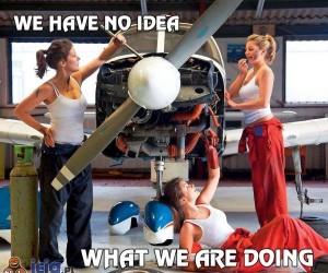 Nie mamy pojęcia, co robimy