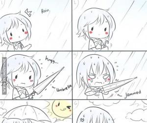 Pie*rzone parasole!