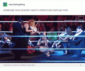 Niech ktoś, kto nie ogląda wrestlingu, spróbuje to wyjaśnić