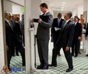 Żartowniś Obama