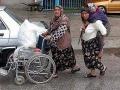 Wózek inwalidzki na kartofle