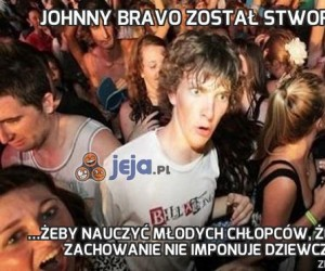 Johnny Bravo został stworzony...