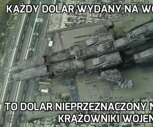 Ludzkość źle wydaje pieniądze...