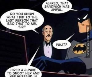Batman vs Alfred