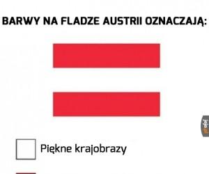 Wyjaśnienie flagi Austrii