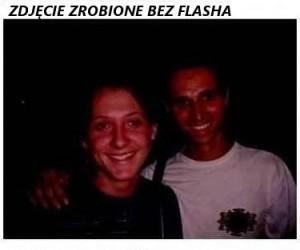 Zdjęcie z flashem