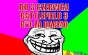 Do 3 czerwca Battledield 3 był za darmo