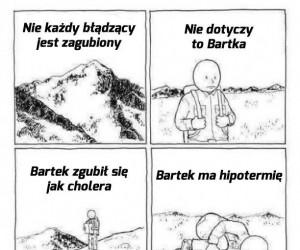 Zagubiony Bartek