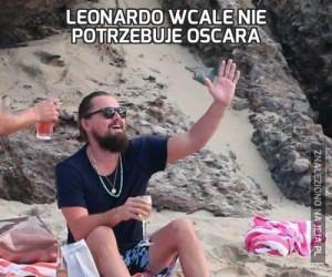Leonardo wcale nie potrzebuje Oscara