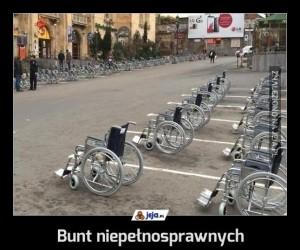 Bunt niepełnosprawnych