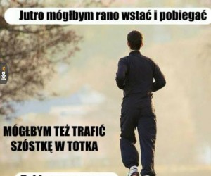 Poranne bieganie