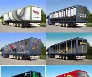 Reklamowe ciężarówki 2