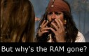 Gdzie jest cały RAM?!