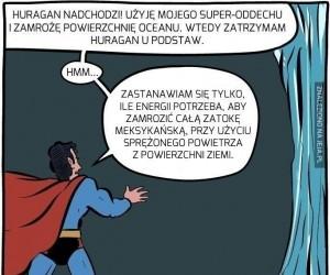 Superman niefortunnie ratuje Ziemię