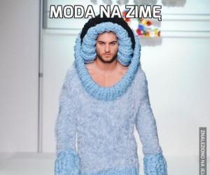 Moda na zimę