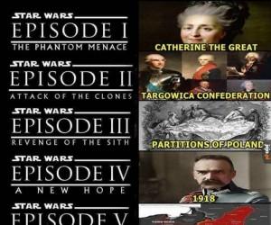 Widziałeś, że Star Wars to tak naprawdę historia Polski?