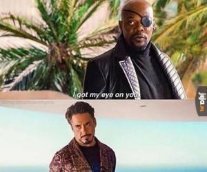 Mam na Ciebie oko Tony!