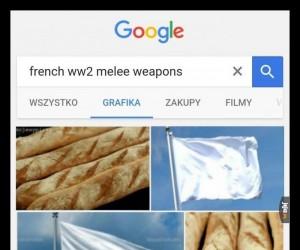 Francuska broń biała z okresu II Wojny Światowej