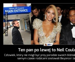 Ten pan po lewej to Neil Coulon