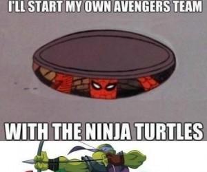 Żółwie Ninja Avengers!