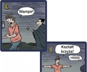 Jak wystraszyć wampira