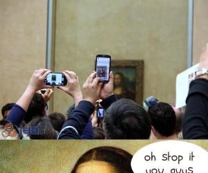 Zawstydzona Mona Lisa