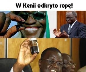 W Kenii odkryto ropę!