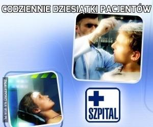 Codziennie dziesiątki pacjentów