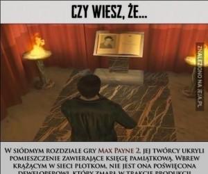 Miejsce pamięci w Max Payne 2