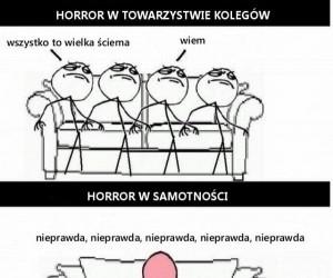 Horror w towarzystwie kolegów