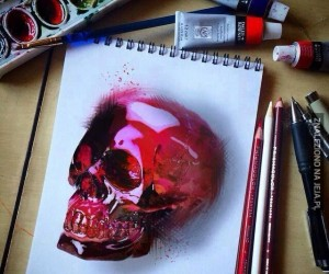 Kryształowa czaszka jak się patrzy