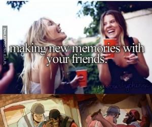 Wspomnienia z przyjaciółmi...