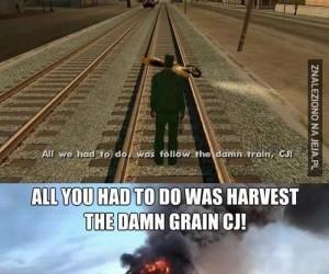 CJ, Ty niedorajdo!