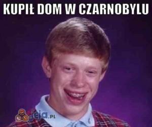 Kupił dom w Czarnobylu