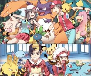 Regiony Pokemon