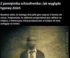 Z pamiętnika schizofrenika
