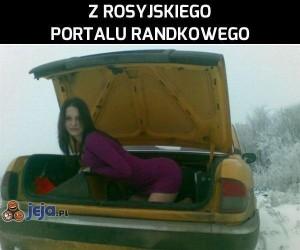 Z rosyjskiego portalu randkowego