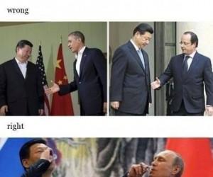 Putin wie jak zjednywać ludzi