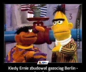 Kiedy Ernie zbudował gazociąg Berlin - Auschwitz