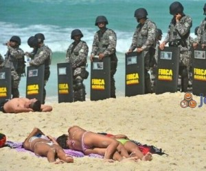 Plaża strzeżona