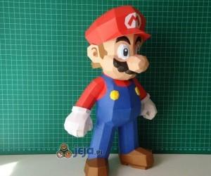 Papierowe postacie z Mario